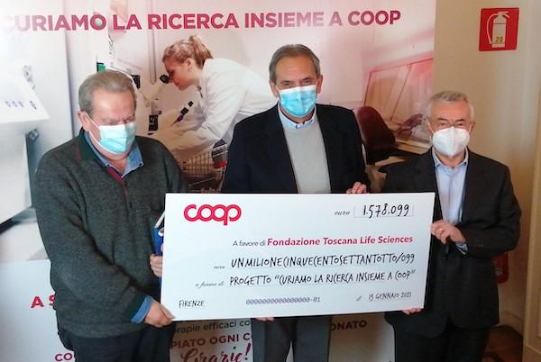 Coop e Superconti, raccolti oltre 1,5 milioni di euro per la ricerca