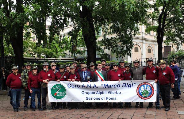 """Il Coro """"Marco Bigi"""" alla 92esima Adunata Nazionale degli Alpini a Milano"""