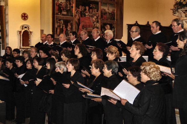 """Concerto del Coro Polifonico """"San Gavino Monreale"""" a Collevalenza"""