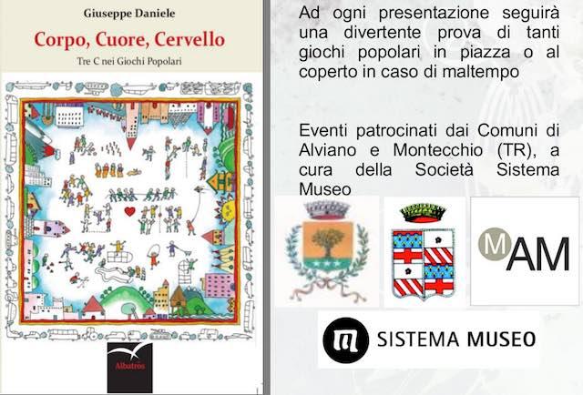 """Giuseppe Daniele presenta il libro """"Corpo, Cuore, Cervello. Le tre C nei giochi popolari"""""""