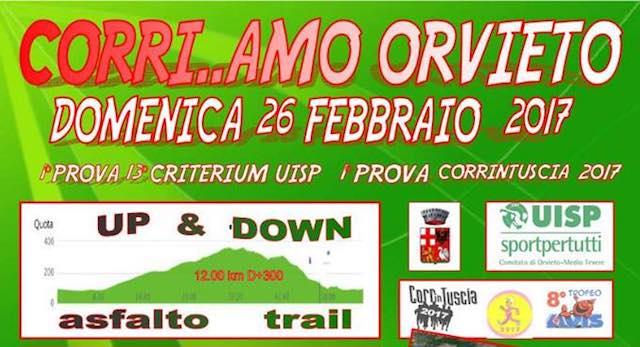 """Seconda edizione per """"Corri...Amo Orvieto"""", tappa del 13° Criterium Uisp Gare su Strada"""