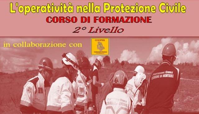 L'operatività nella Protezione Civile. Corso di formazione di secondo livello