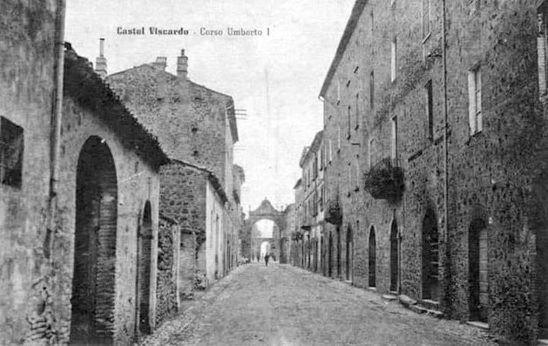 Castel Viscardo, Corso Umberto I (Anni '30-'40)