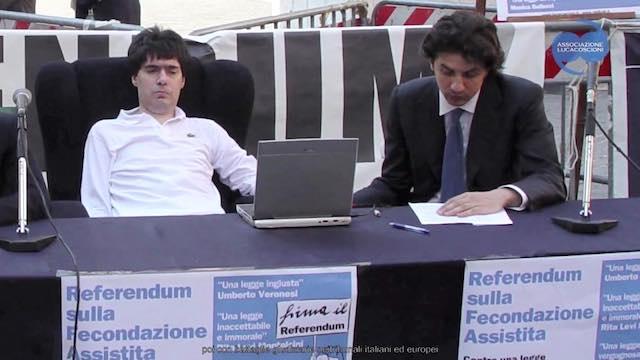 A 12 anni dalla morte, i genitori di Luca Coscioni depositano il loro biotestamento ad Orvieto