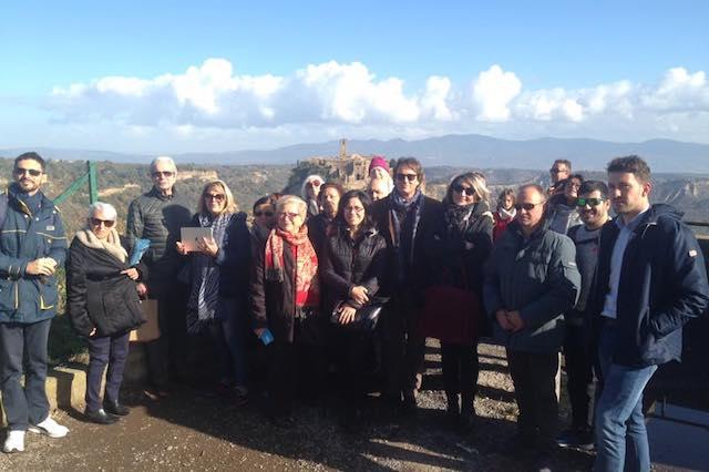 """Primi crocieristi a Civita. Bigiotti: """"Puntiamo ad aumentare l'appeal turistico"""""""