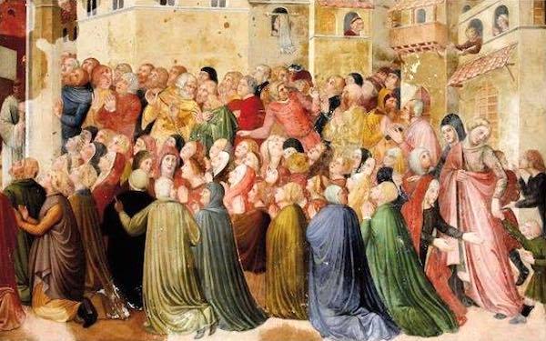 """""""L'abbigliamento del Trecento negli affreschi della Cappella del Corporale"""""""