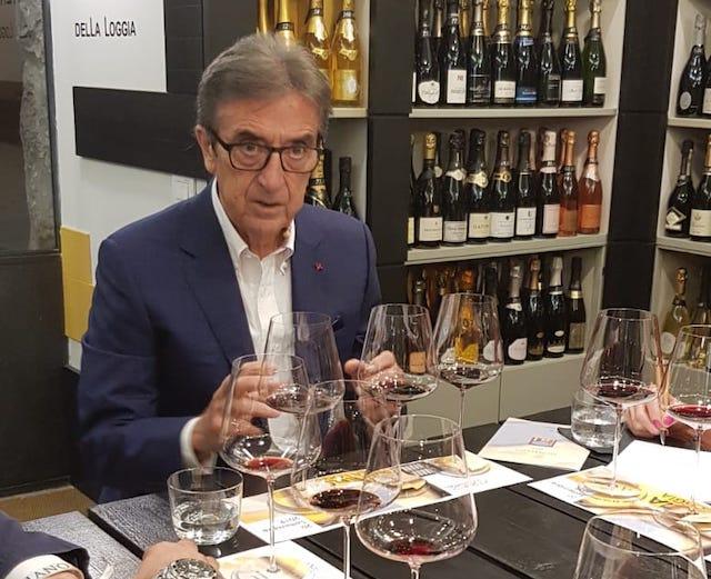 """Nelle """"mani"""" di Riccardo Cotarella i vini di Sting"""