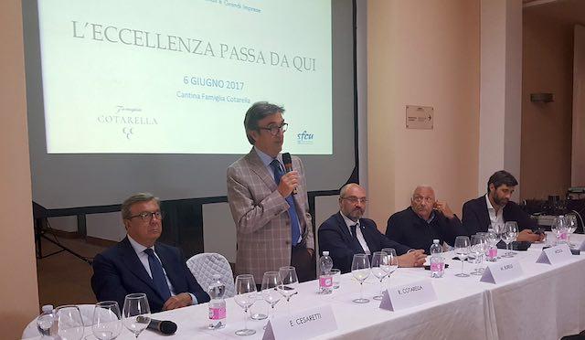 L'eccellenza secondo le grandi imprese e le multinazionali in Umbria. Summit alla Cantina Falesco