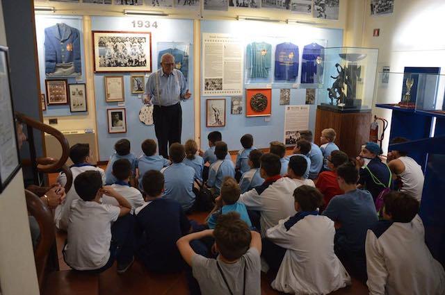 Gsd Romeo Menti, il settore giovanile in visita al Museo del Calcio di Coverciano