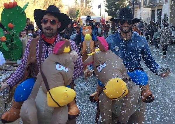 Sole splendente, Carnevale sorprendente con la Pro Loco Marta