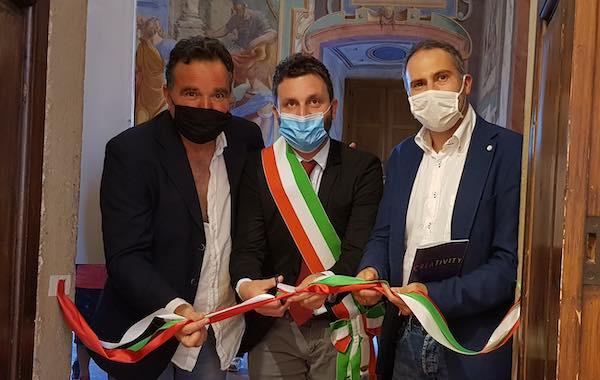 """Inaugurata la mostra """"Creativity, da Guttuso a Schifano alla transavanguardia"""""""