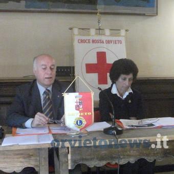 Croce Rossa Italiana e Lions Club. A Orvieto uniti in nome della sicurezza stradale