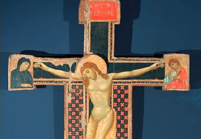"""Corrado Fratini illustra """"Il restauro della Croce di San Paolo in Orvieto"""""""