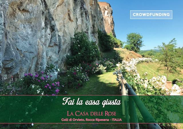 """Rocca Ripesena sogna """"La Casa delle Rose"""". Aperto il crowdfunding"""
