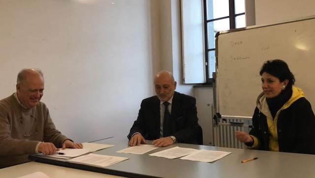 Sottoscritto l'accordo di rete per attività formative e di ricerca tra Fondazione per il Csco e Centro Studi Città di Foligno