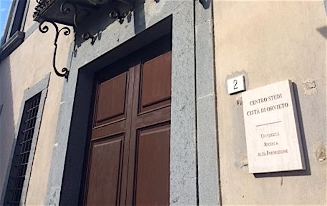 Fondazione per il Centro Studi Città di Orvieto, Olimpieri (GM) interroga il Comune