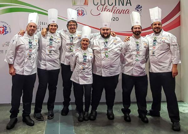 Orvieto torna con un bronzo dai Campionati della Cucina Italiana 2020