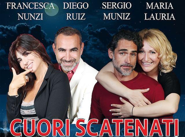 """Risate, tradimenti e """"Cuori Scatenati"""" sul palco del Teatro Bianconi"""