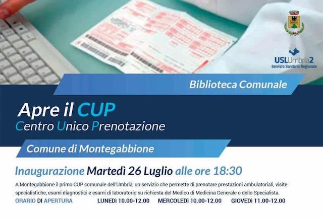 Alla biblioteca di Montegabbione apre il primo Cup comunale dell'Umbria