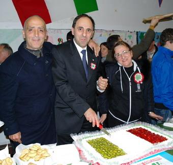 A Castel Viscardo successo per la festa del 150° dell'Unità d'Italia