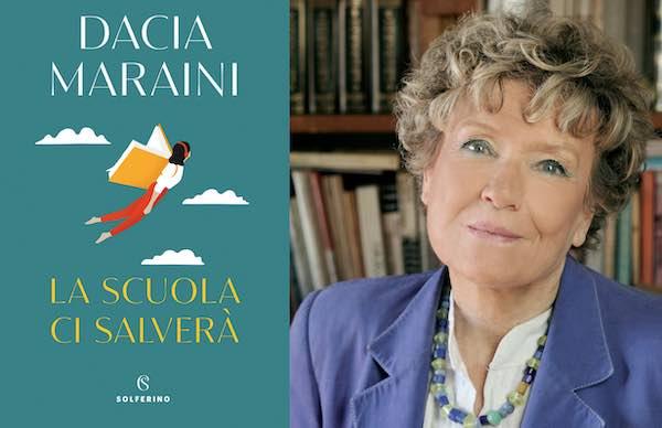"""Fidapa incontra Dacia Maraini in occasione dell'uscita del libro """"La scuola ci salverà"""""""