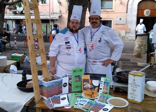 """Angelo D'Acquisto a Taormina. Lo chef rappresenta l'Umbria a """"Cibo Nostrum"""""""