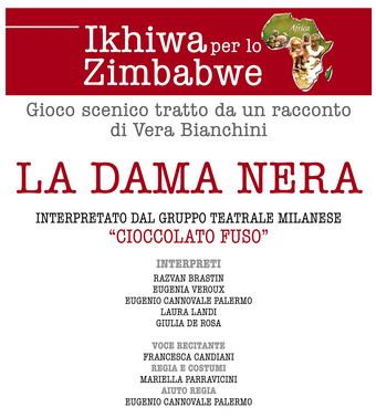 """""""La Dama Nera"""" in scena al Santa Cristina di Porano per sostenere l'associazione Ikhiwa"""