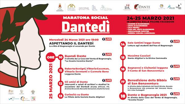 """""""A riveder le stelle"""". Luci accese e maratona social per il Dantedì 2021"""