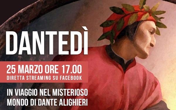 """""""Dantedì, in viaggio nel misterioso mondo di Dante Alighieri"""""""