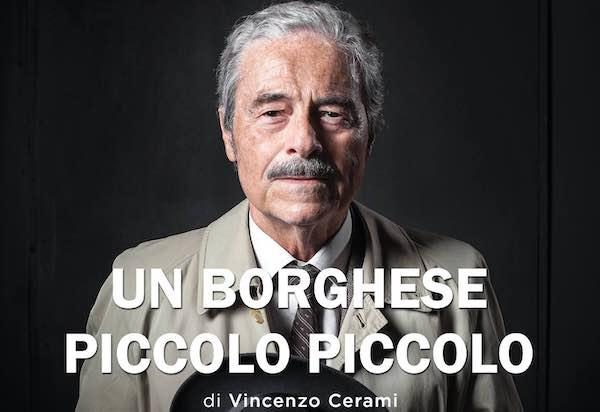 """Al """"Lea Padovani"""" Massimo Dapporto è """"Un borghese piccolo piccolo"""""""