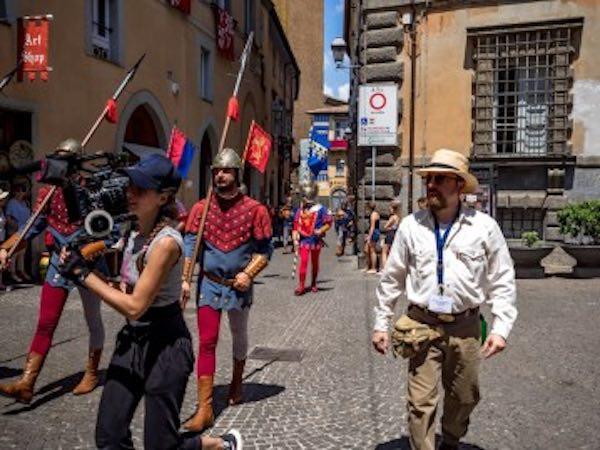 Anche gli studenti dell'Artistico nello staff del regista Giovanni Bufalini