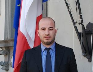 Il neo-consigliere comunale Davide Melone ringrazia per la nuova carica assunta