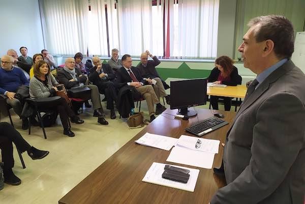 Il neo-commissario straordinario Massimo De Fino illustra le linee programmatiche