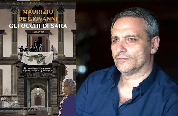 """Maurizio De Giovanni presenta online il libro """"Gli Occhi di Sara"""""""
