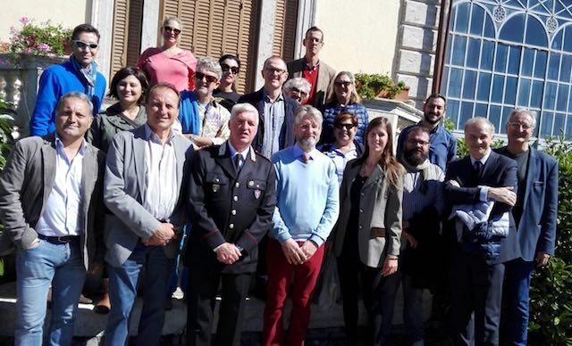 I membri della Fondazione Duchêne visitano Villa Cahen e il Castello di Torre Alfina
