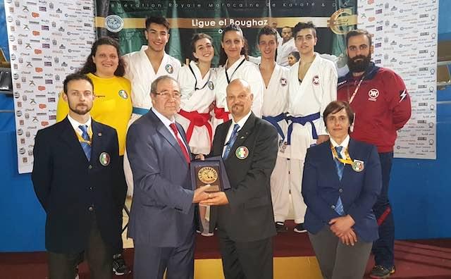 Karate, gli atleti della Scuola Keikenkai in Marocco per l'Open di Tangeri Wkf