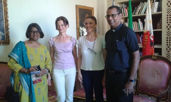 Ricevuta in Comune la delegazione dell'Archdiocesan Heritage Museum di Mumbai