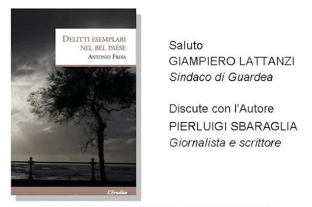 """In biblioteca Antonio Fresa presenta il libro """"Delitti esemplari nel Bel Paese"""""""