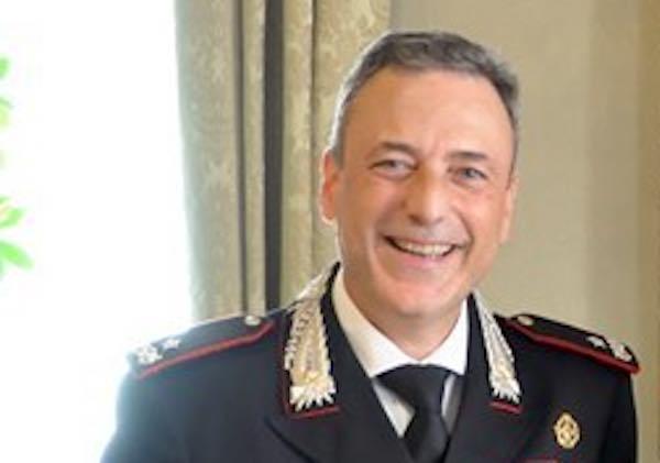 Il generale Massimiliano Della Gala in visita alla Compagnia Carabinieri