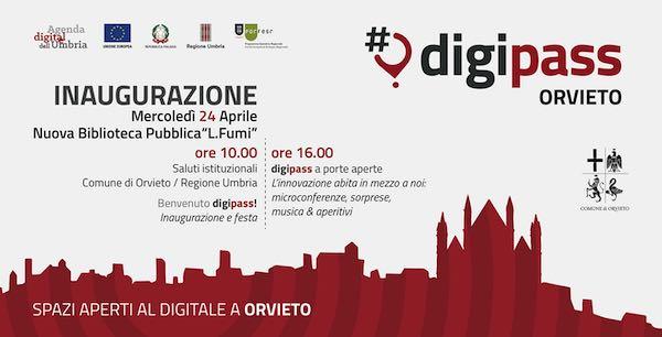 Spazi aperti al digitale in Biblioteca, Orvieto inaugura il suo DigiPass