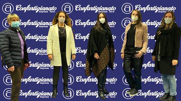"""Confartigianato Imprese Terni, rinnovato il direttivo del gruppo """"Donne"""""""