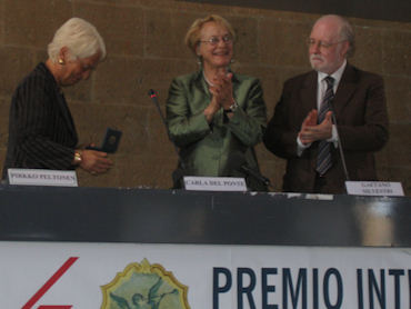 """Carla Del Ponte dedica il Premio ai Diritti Umani alla Fondazione Falcone. Un riconoscimento alla sua azione contro """"la banalità del male"""""""