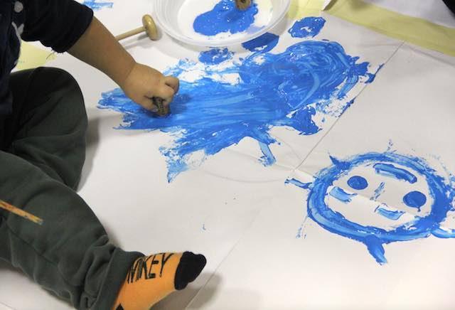 """""""Emozioni a colori"""" con Aga Zawisza. Libertà di espressione, senza età e senza frontiere"""