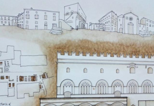 """Analytiques and Reflections upon Orvieto"". La Kansas State University in Italy alla Bottega Chioccia Tsarkova"
