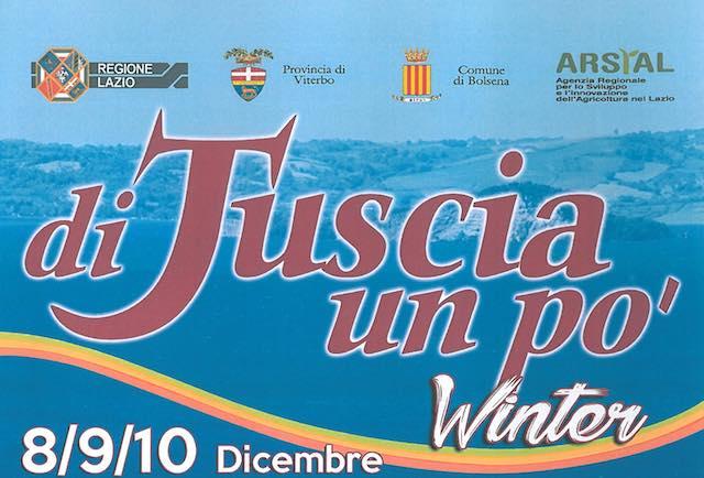 """A """"Di Tuscia un po' Winter"""", spumanti e vini, buon cibo, libri, musica e mercatini"""