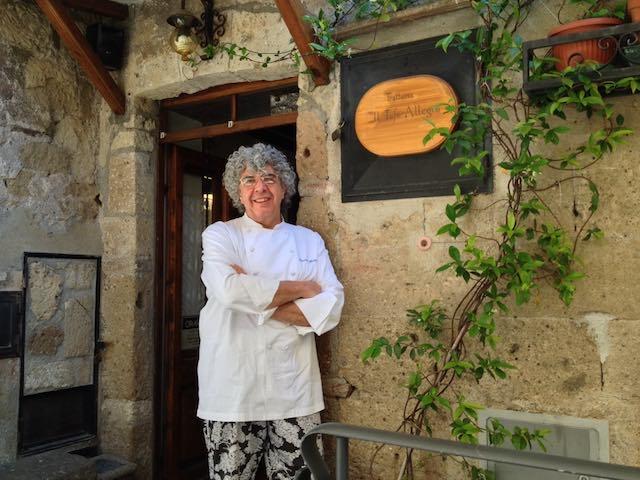 """Lo Chef Domenico Pichini de """"Il Tufo Allegro"""" paladino della Cucina Goym"""