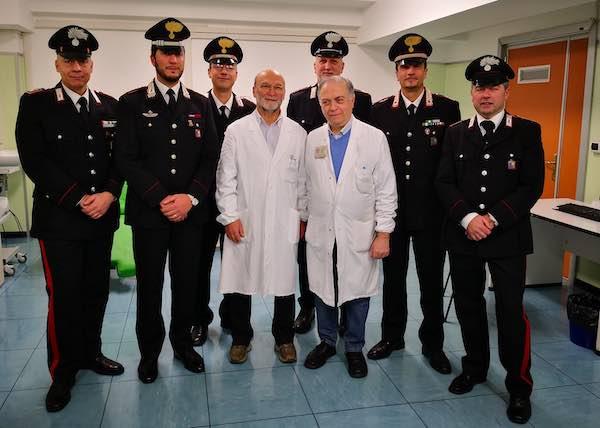 Un'Arma in più per prevenire la carenza di sangue, donano anche i Carabinieri