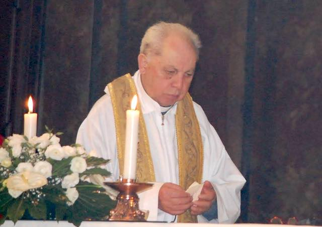 Bagnoregio piange la scomparsa di don Enrico Righi