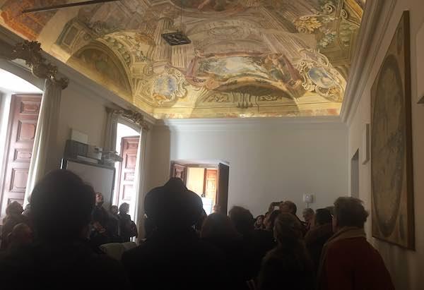 Apertura straordinaria di Palazzo Donini, grande successo per le visite guidate