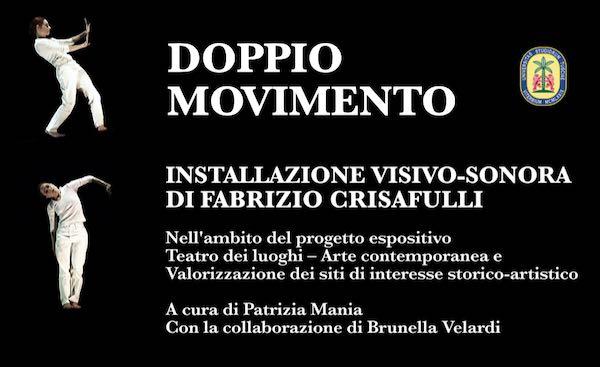 """""""Doppio Movimento"""". Installazione visivo-sonora sulla facciata dell'ex chiesa"""